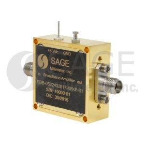 SAGE Millimeter社Broadband Amplifiers