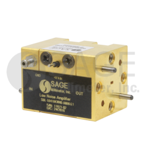 SAGE Millimeter社Low Noise Amplifiers