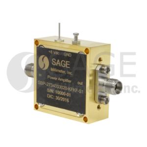 SAGE Millimeter社Power Amplifiers