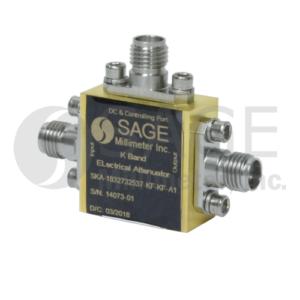 SAGE Millimeter社Electrical Attenators