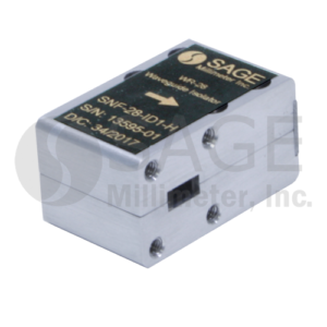 SAGE Millimeter社Full Band Isolators and Circulators