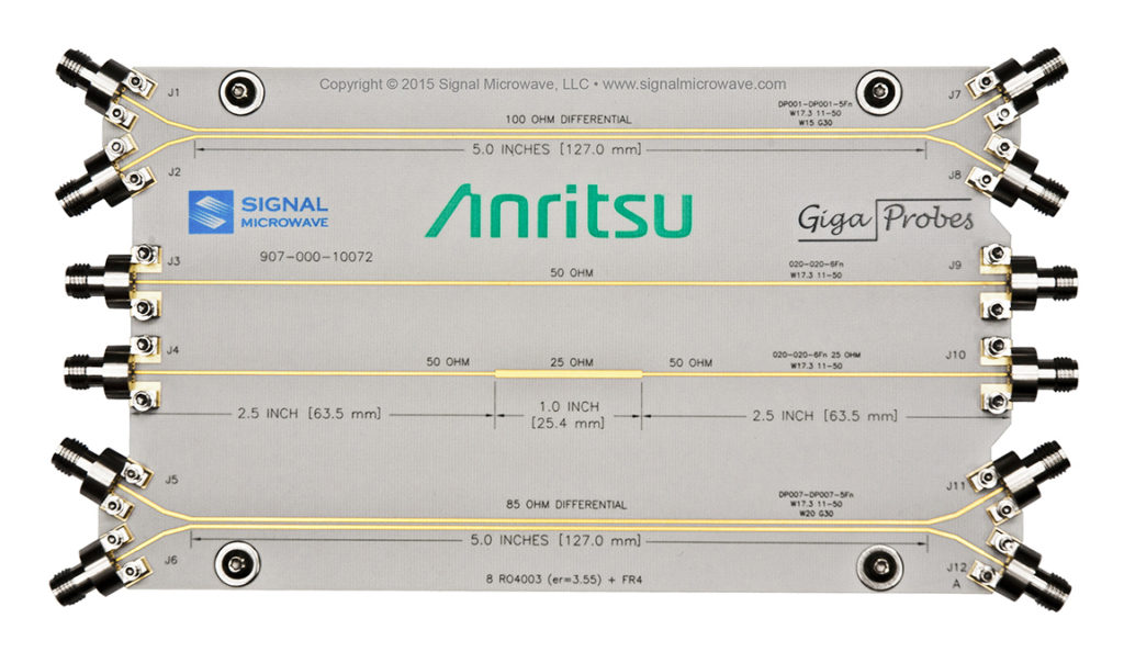 Signal Microwave社907-040-10072 Anritsu Verification Board