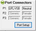 Port Setup ボタン